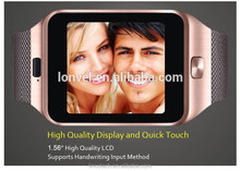 2015 hot selling internet phone call smart watch sync for iphone