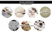 Серьги висячие ROXI  2020433325b