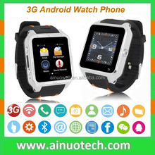 High Quality 3G GPS Smart Watch Phone Bluetooth Wrist Watch Phone With SIM Card Mate for IOS Andorid