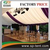 40x60m Aluminum frame waterproof polyester canvas fabric giant tent for exhibition