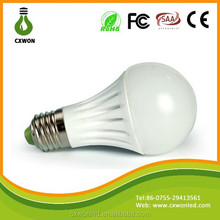 Ceramic Epistar 5630 180 degree New Style Energy Saving E27 7w led lighting bulb