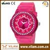 Fashion vogue ladies watch,Wholesale lady watches,Quartz silicon watch