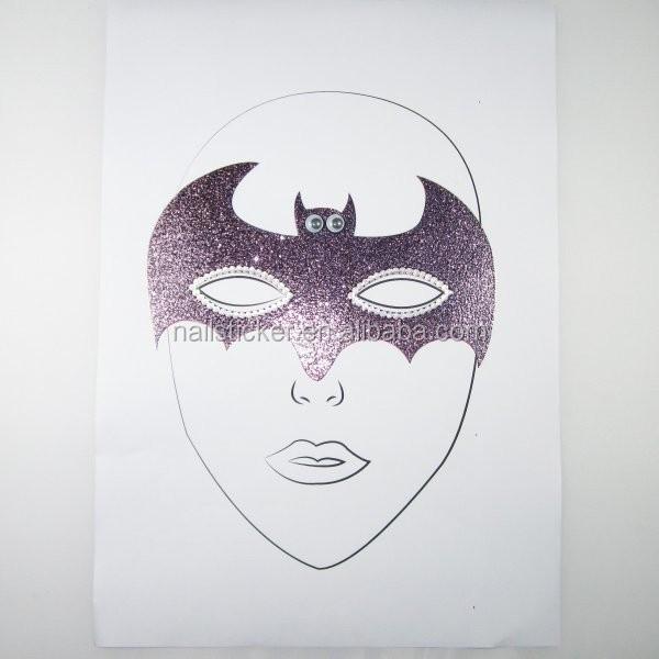 Armarios Fernando Mooca ~ Atacado dos desenhos animados de Halloween Batman glitter tatuagens temporárias rosto crianças