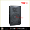Hot Sale10 inch Professional Stage Passive Pro Audio Speaker Box WG-10