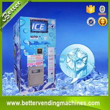 Automatic Cube Bulk and BAG Ice Vending Machine