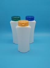 400ml pe plastic shampoo bottle wholesale/plastic bottle can be refilled