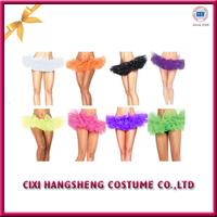 Sexy Night Club Dance Costumes LED Light Up Tutu Skirt