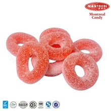 Wholesale halal ring gummy candy