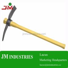 varnished solid wood pick handle