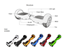 Factory Wholesales hands free balance scooter 2015 hottest popular in USA,Europe