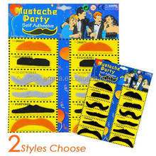 fashionable funny toy mustache jokes halloween party city wholesale mustache MU 5026