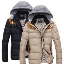 RT Free Shipping 2015 New Fashion Winter men's down & parkas jacket cotton jacket Outdoor coat UY906