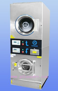 12kg Coin Operated Stack Washer Dryer Commercial Laundry