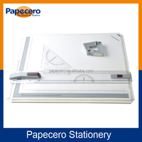 Professional Drawing board A3 Size/Clipboard with Sliding Ruler