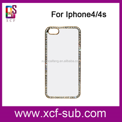 2D sublimation Blank Plastic Case for iPhone 4s ,customed phone cover for iphone 4s,printable mobile case for apple4s