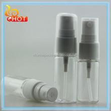 10ml 15ml Clear Plastic Round PET Spray Bottle