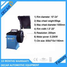 attrezzature per officine auto pneumatici usati macchina equilibratrice ce per la vendita