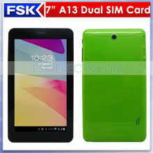 312 big sale!F733 A13 Dual Sim Card Dual Standby 7 inch call android tablet pc