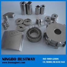 Ni coating custom made strong ndfeb magnet