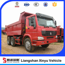 China tri axle rear tipper lorry /truck chassis for sale