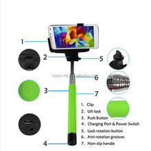 Clip Holder Camera Wireless Bluetooth Remote Control Handheld for iPhone Android Phone Monopod bluetooth