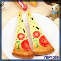 custom stationery promotional thick ballpoint pen pizza mould pen ball