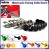 BJ-Screws-2004 Racing Motorcycle Fairing M6 Allen Key Bolts Kits Nuts Screws