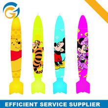 Cratoon Rocket Shape Promotional Company Pens