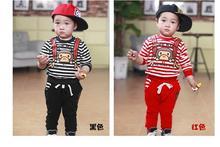 S61179A wholesale children long sleeve cute print kid boy t shirts