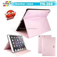 for Ipad air PU leather case cover card holder leather flip cover wholesale