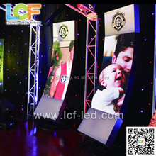 P6 indoor led large indoor advertising display video led display big tv curve led display with high quality