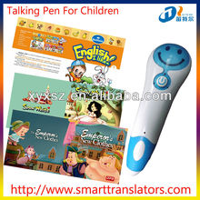 new products Fairy Tales Baby learning talking pen with Thai