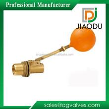 Forged mini plastic ND15 DN20 1/2 3/4 1 2 inch small water tank water level male NPT thread brass ball float valve