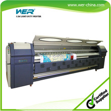 3.2m large format poster machine with 1 year warranty