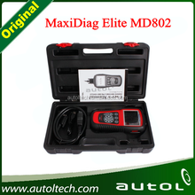 Autel MaxiDiag Elite MD802 All System+DS Model Supports all 10 test modes of the latest J1979 OBD II test specs, including Read