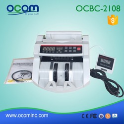 BC-2108: banknote counter with uv mg, money checking machine