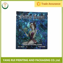 black diamond herbal incense bag