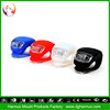 Good Quality with super bright silicone skull bicycle light (OEM WELCOME)