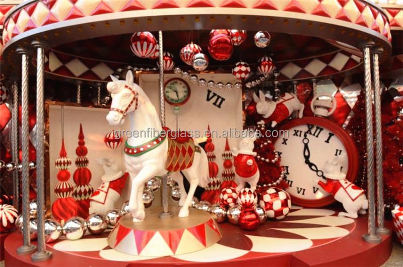 fiberglass horse sculpture animal sculpture for garden decoration