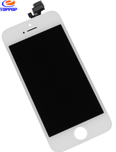 Mobile phone LCD screen with touch digitizer assembly for iPhone 5 in Alibaba express