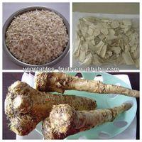 dehydrated horseradish chips peel by machine