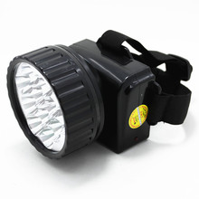 12led bulb plastic rechargeable led head light coal mining led head light