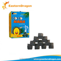 long burning time smokeless cubic coconut shisha charcoal