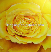 Custom Classial Rose Flower Oil Painting Picture on Canvas