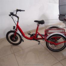 Cheap 3 Wheel electric bicycle , three wheel electric motor bike