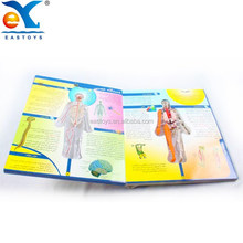 Professional Three - Dimensional Colorful Hardcover Child Book