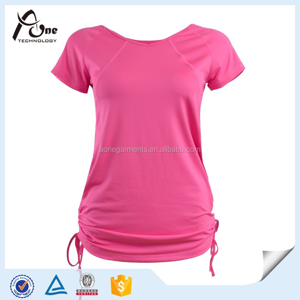 Neon color fashion cotton t shirt custom t shirts for Bulk neon t shirts