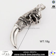 Exciting ebur jewelry design ghost surface pendants for men