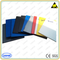 Recyclable hollow pp plastic corrugated board