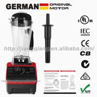 BPA free! Food Processor Good quality food mixer , 51000RPM 3.1HP 2500W 2L Black, Professional green smoothies Series G5000